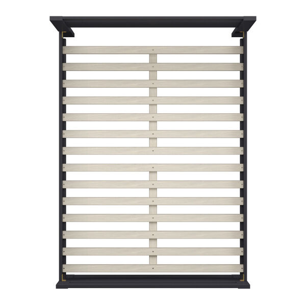 Christopher Black Full Rectangular Cut-Out Panel Bed, image 4